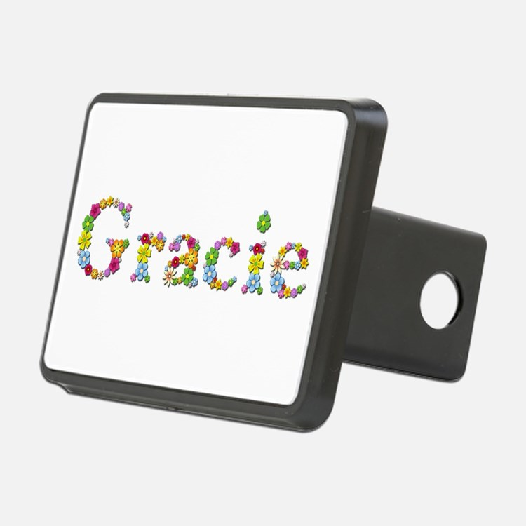 Gracie Bright Flowers Hitch Cover
