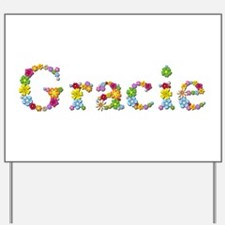 Gracie Bright Flowers Yard Sign