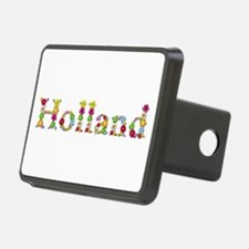 Holland Bright Flowers Hitch Cover