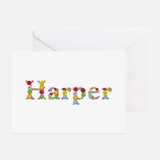 Harper Bright Flowers Greeting Card