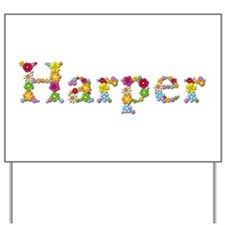 Harper Bright Flowers Yard Sign