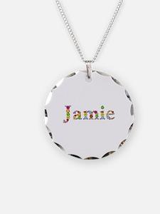 Jamie Bright Flowers Necklace