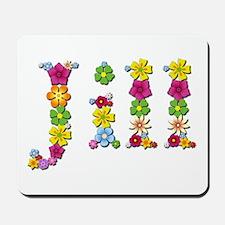 Jill Bright Flowers Mousepad