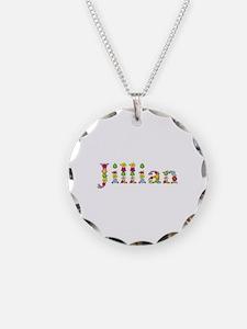Jillian Bright Flowers Necklace