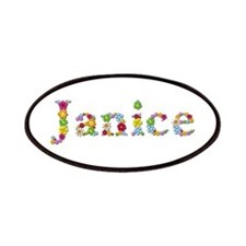 Janice Bright Flowers Patch