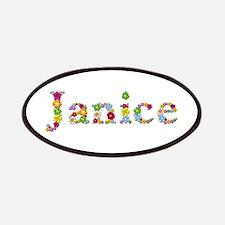 Janice Bright Flowers Patch