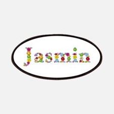 Jasmin Bright Flowers Patch