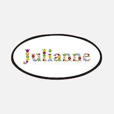 Julianne Bright Flowers Patch