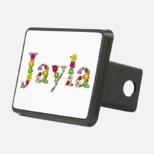 Jayla Bright Flowers Hitch Cover