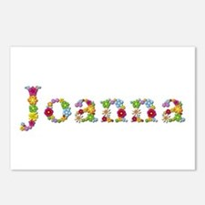 Joanna Bright Flowers Postcards 8 Pack