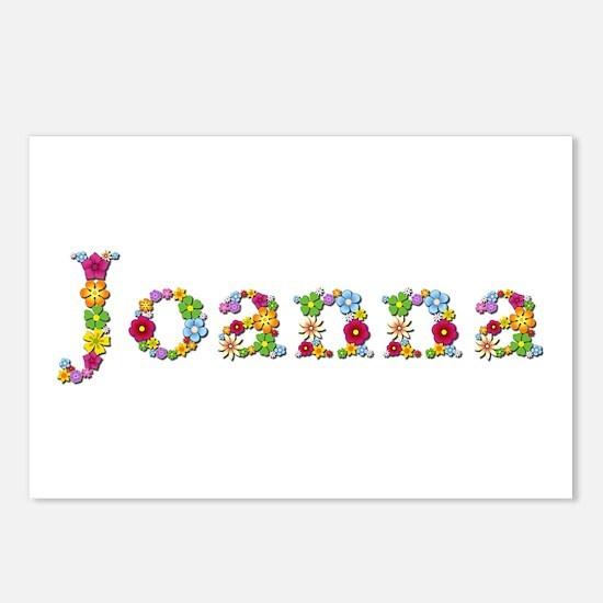 Joanna Bright Flowers Postcards 8 Pack