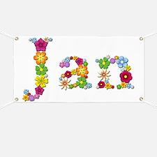 Jan Bright Flowers Banner