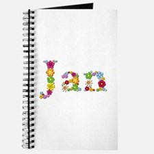 Jan Bright Flowers Journal