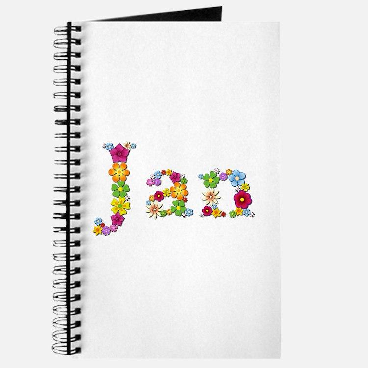 Jan Bright Flowers Journal
