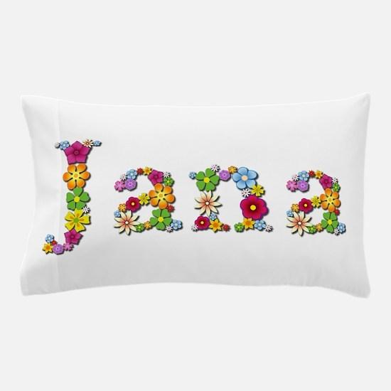 Jana Bright Flowers Pillow Case