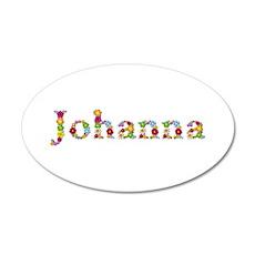 Johanna Bright Flowers Wall Decal