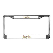 Jayla Bright Flowers License Plate Frame
