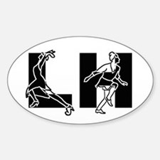 Lindy Hop - Dancers Stickers