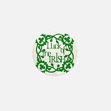 Irish Luck Mini Button