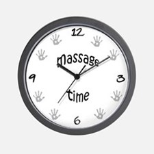 Massage Time Wall Clock