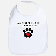 My Best Friend Is A Yellow Lab Bib