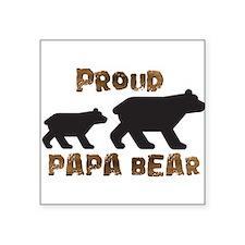 Proud Papa Bear Sticker