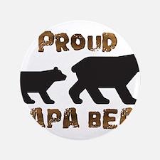 "Proud Papa Bear 3.5"" Button"