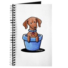 KiniArt Potted Doxie Journal