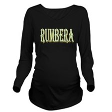 Rumber in Lights Long Sleeve Maternity T-Shirt