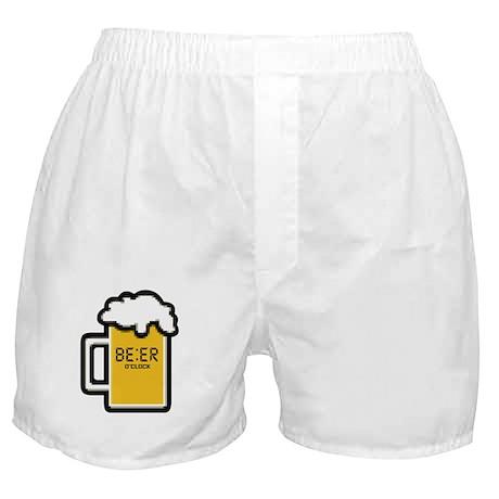 Beer O Clock Boxer Shorts