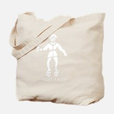 Bartholomew Roberts 2 White Tote Bag