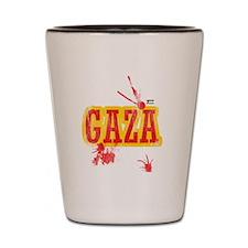 Gaza T shirt Shot Glass