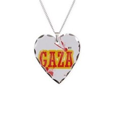 Gaza T shirt Necklace