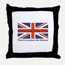 No Place Like Holme... Throw Pillow