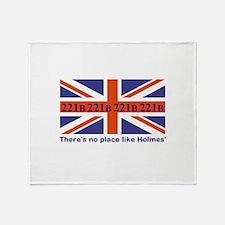 No Place Like Holme... Throw Blanket