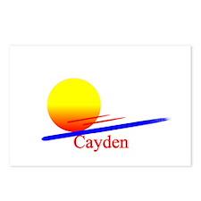 Cayden Postcards (Package of 8)