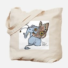 Faery / Fairy Elephant Tote Bag