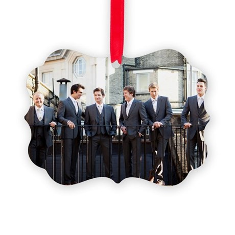 The Kings Singers Outdoors Picture Ornament