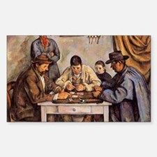 Cezanne - The Card Players (th Decal