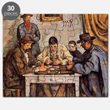 Cezanne - The Card Players (three men playi Puzzle