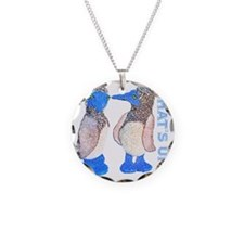 whats up blue footed boobie Necklace