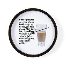Chocolate Milk Wall Clock