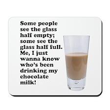 Chocolate Milk Mousepad