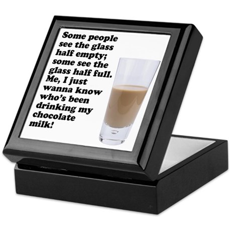 Chocolate Milk Keepsake Box