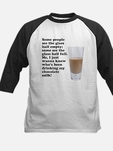 Chocolate Milk Kids Baseball Jersey