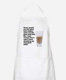 Chocolate Milk BBQ Apron