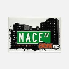 Mace Av, Bronx, NYC Rectangle Magnet