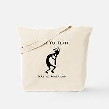 Native American Kokopelli Tote Bag