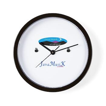 JavaMusiK Wall Clock