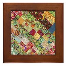 Quiltorama Framed Tile